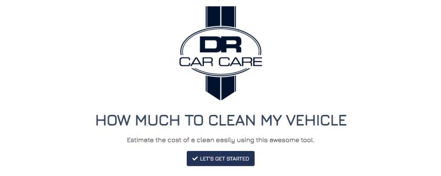 DR Car Care Custom Quote